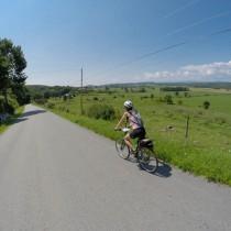 Photo of women on bicycle
