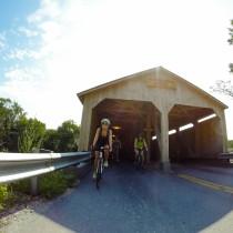 Photo of people riding bikes